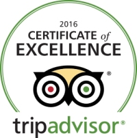 Trip Advisor Certificate of Excellence 2016 The Pearl Eatery